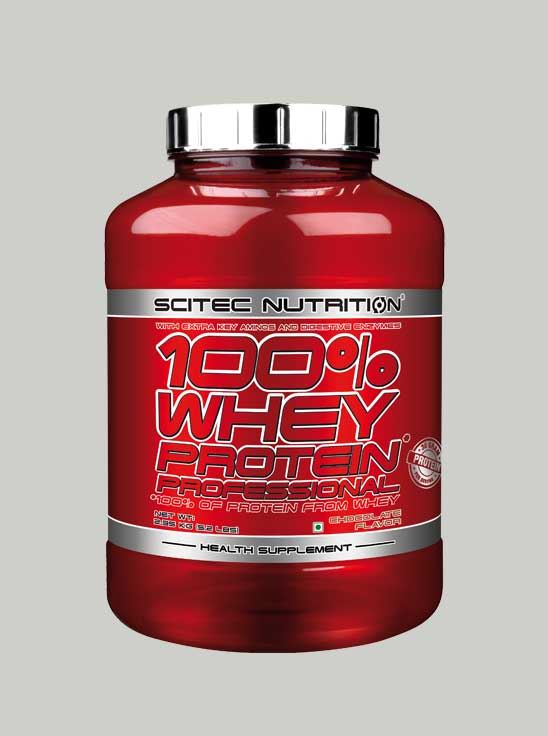 Scitec 100% Whey Protein Professional Banana 5.2 lbs v2.0