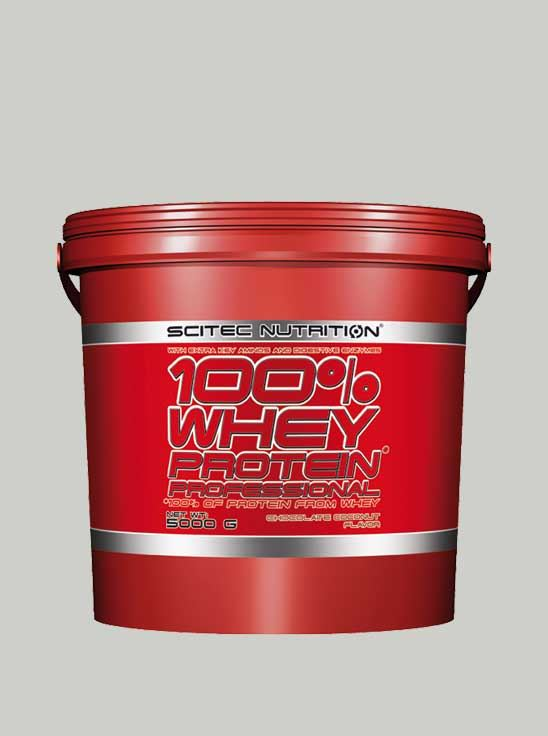 Scitec 100% Whey Protein Professional Chocolate 11 lbs v2.0