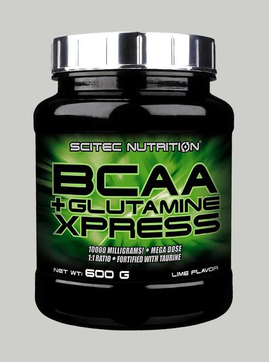 Scitec BCAA+ Glutamine Xpress Apple 50 Servings
