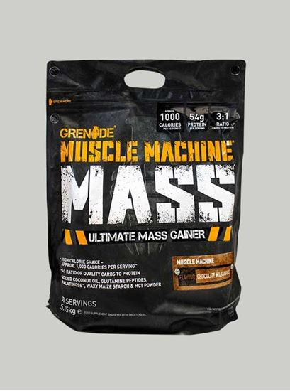 GRENADE Muscle Machine Mass Gainer Chocolate 12.6 lbs Bag