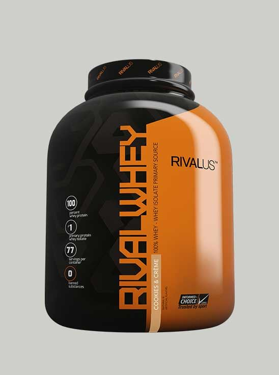 Rival Whey Protein Cookies Cream 5 lbs