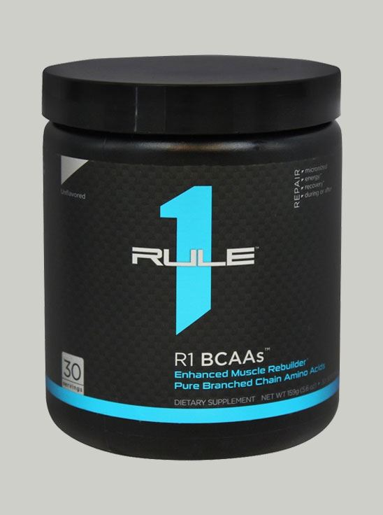 Rule 1 BCAA Unflavored 30 Servings