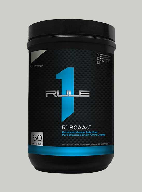 Rule 1 BCAA Unflavored 60 Servings