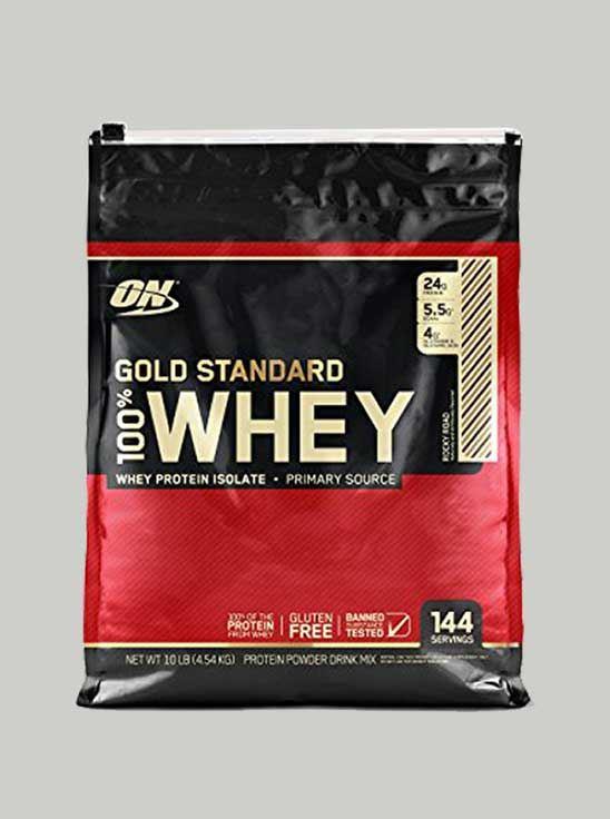 ON 100% Gold Standard Whey Protein Vanilla Ice Cream 10 lbs