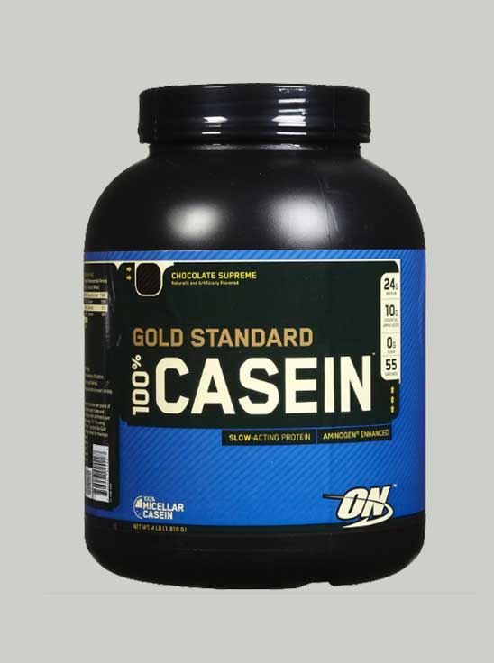 ON 100% Gold Standard Casein Chocolate 4 lbs