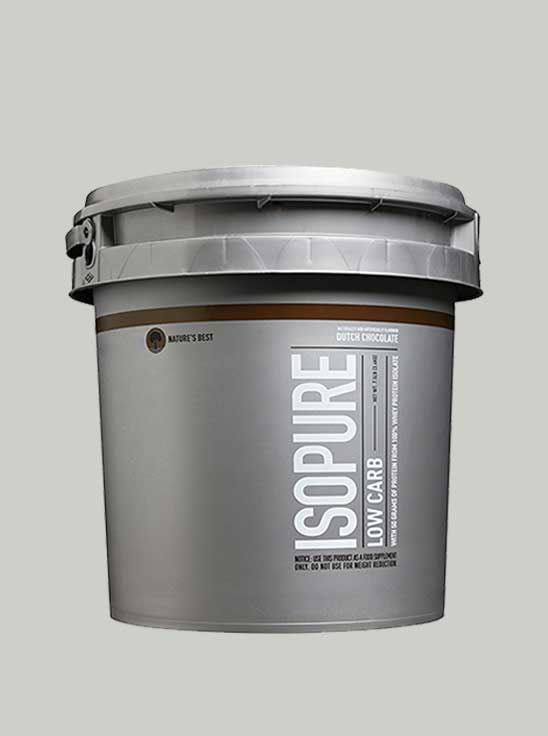 Isopure Whey Protein Isolate Cookies Cream 7.5 lbs