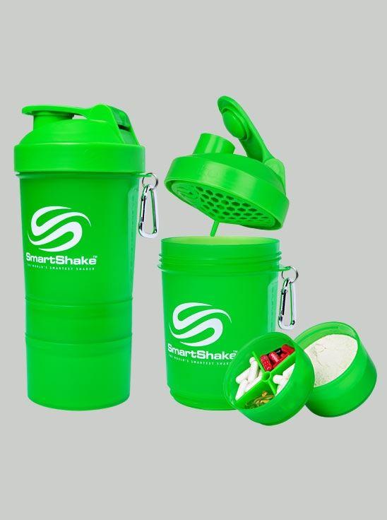 Smartshake Neon Green Shaker 600 ml