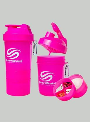 Smartshake Neon Pink Shaker 600 ml