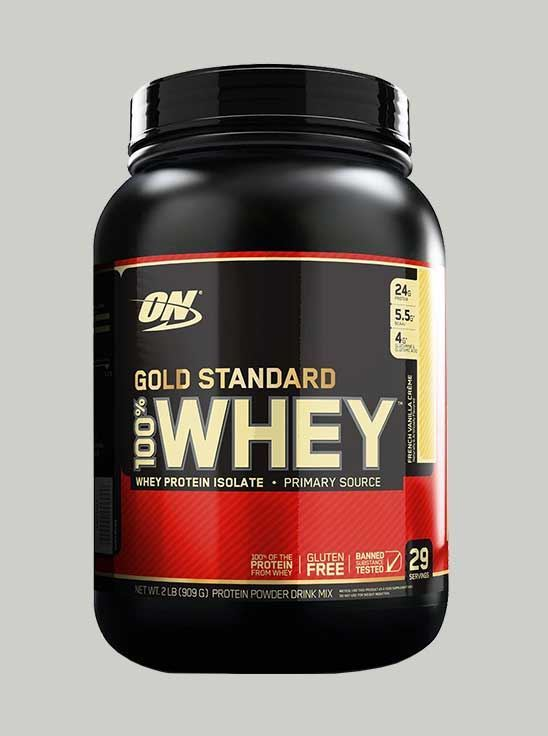 ON 100% Gold Standard Whey Protein French Vanilla 2 lbs