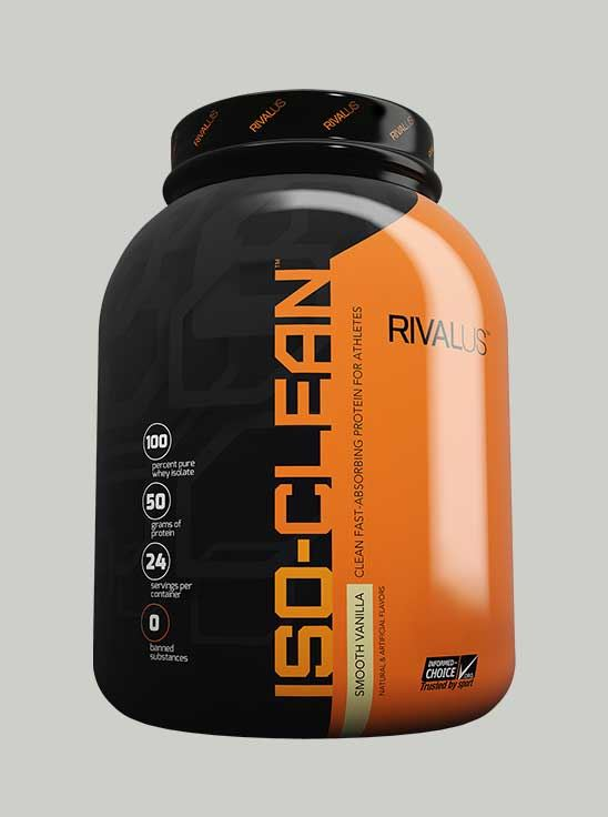 Rival ISO-Clean Whey Protein Smooth Vanilla 3.4 lbs