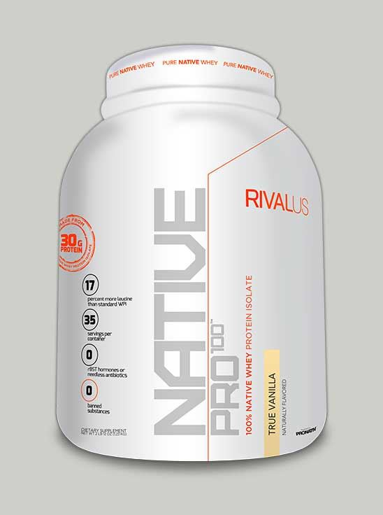 NATIVE PRO 100 True Vanilla 35 Servings