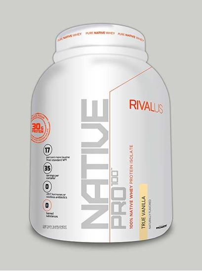 NATIVE PRO 100 True Vanilla 35 Servings