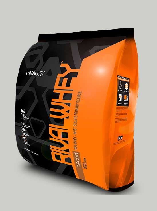 Rival Whey Protein Chocolate 10 lbs