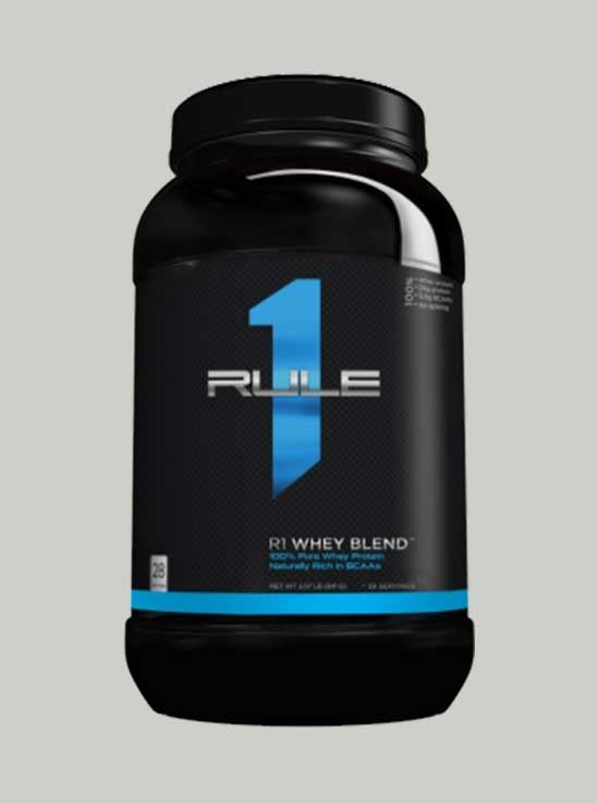 Rule 1 Whey Blend Protein Chocolate Fudge 2 lbs