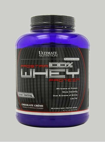 Picture of Ultimate Nutrition - Prostar Whey Protein Chocolate Creme 5 Lbs