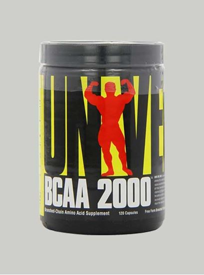 Picture of Universal Nutrition - BCAA 2000 120 Capsules