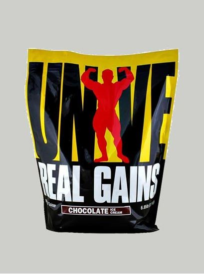 Picture of Universal Nutrition - Real Gains Chocolate 6.8 Lbs