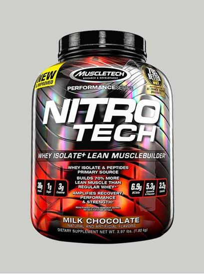Picture of Muscletech - Nitrotech Performance Series Chocolate 4 Lbs