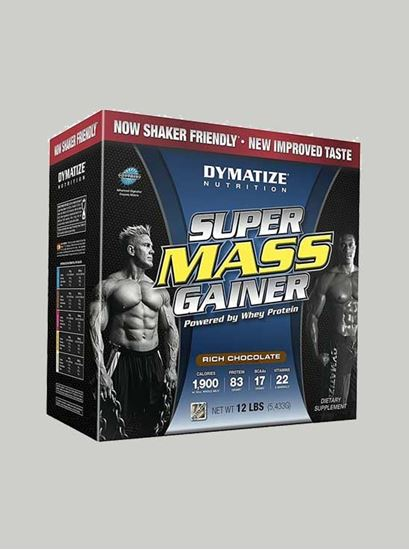 Picture of Dymatize - Super Mass Gainer Rich Chocolate 12 Lbs