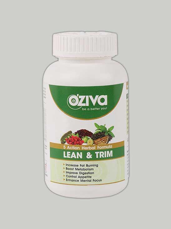 Oziva Lean Trim Natural Fat Burner 120 Tablets