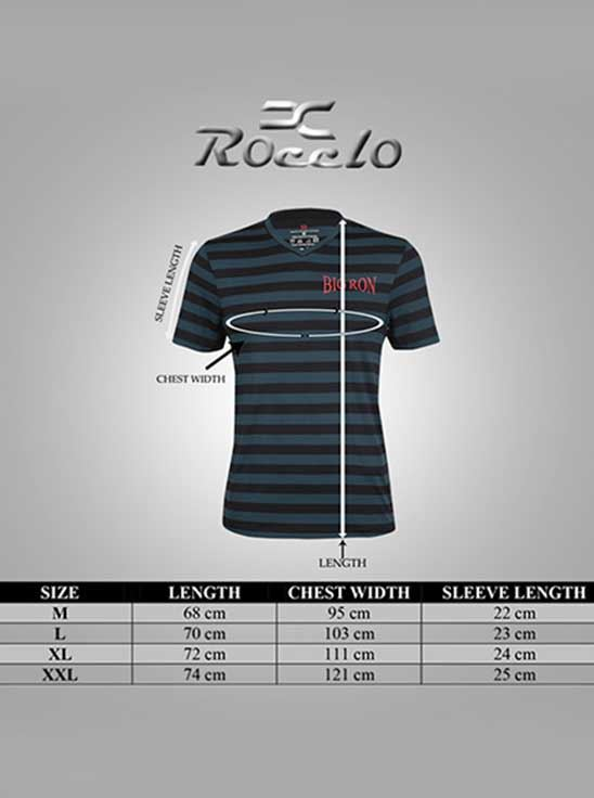 Picture of Ronnie Coleman - Men's T-Shirt Black&Grey Size XXL -5051