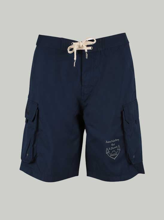 Picture of Ronnie Coleman -Men's Sports Shorts Navy Blue Size M - 5063