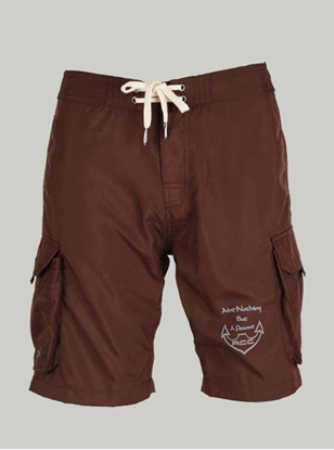 Picture of Ronnie Coleman - Men's Shorts Chocolate Brown Size M -5065