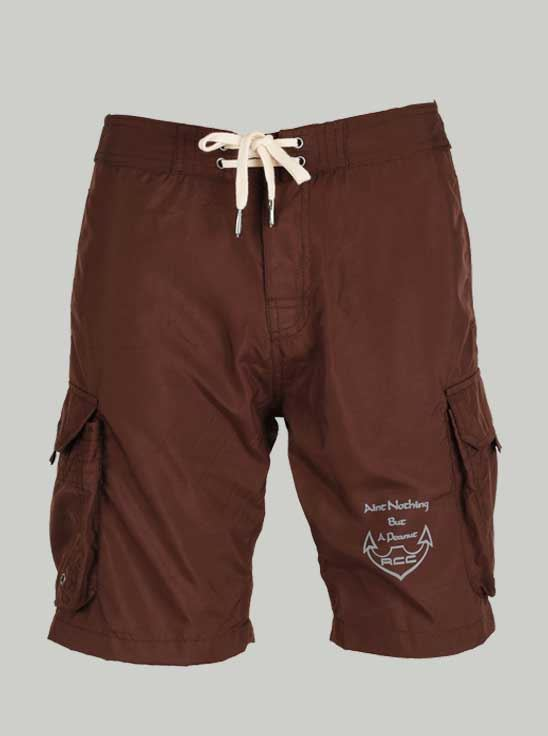 Picture of Ronnie Coleman -Men's Shorts Chocolate Brown Size XXL -5065