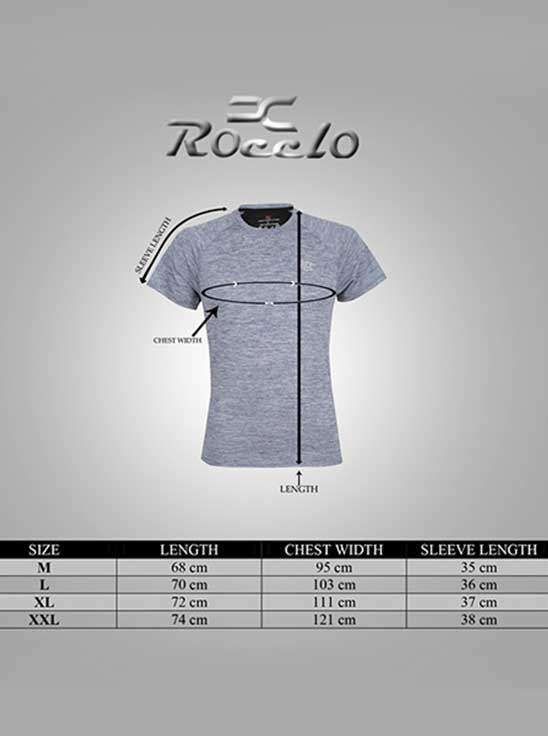 Picture of ROCCLO - Men's Jersey Bluish Grey Size XXL -5066
