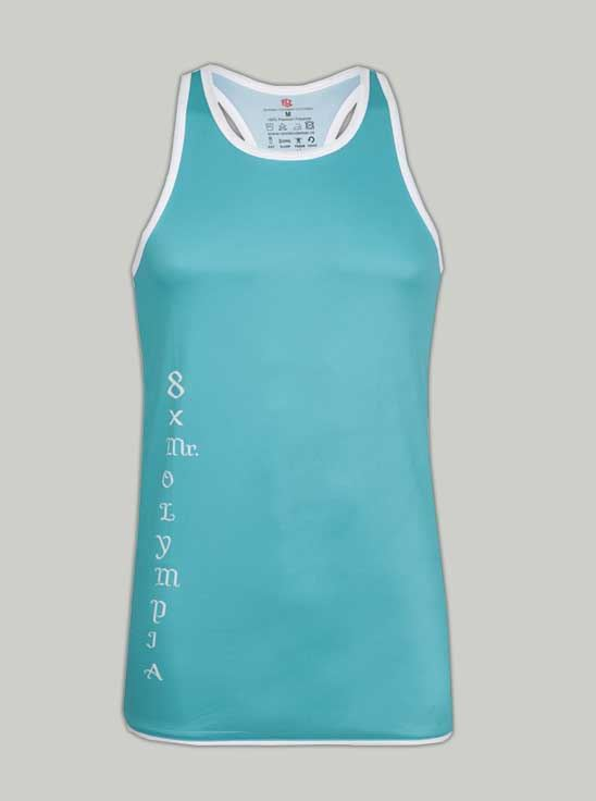 Picture of Ronnie Coleman - Men's Tank Top Ocean Green Size M -5067