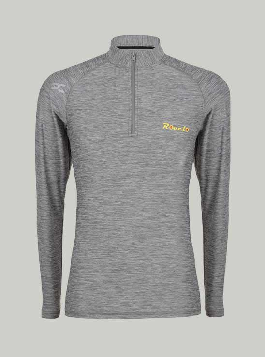 Picture of ROCCLO - Men's Grey Color T-Shirt Size M -5072