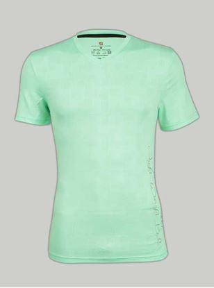 Picture of Ronnie Coleman - Men's  T-Shirt Size L Aqua Green -5075