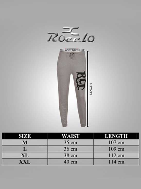 Picture of Ronnie Coleman - Men's  Trackpant Ash Grey Size XXL -5076