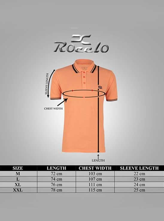 Picture of Ronnie Coleman - Men's  T-Shirt Orange Size XXL -5078