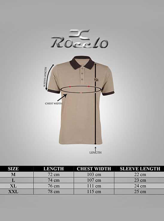 Picture of Ronnie Coleman - Men's  T-Shirt Beige Size L -5082