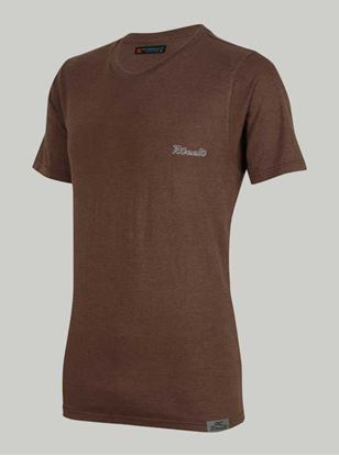 Picture of ROCCLO- T-ShirrtChocolate Brown Size XXL -5095