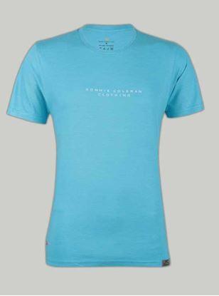 Picture of Ronnie Coleman - Men's T-Shirt Aqua Blue Size L -5096