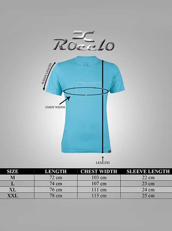 Picture of Ronnie Coleman - Men's T-Shirt Aqua Blue Size XL -5096