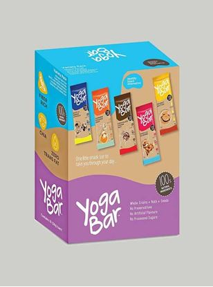 Picture of Yogabar - 100% Natural Energy Bar - Variety Box - 10 Piece(s)/Pack