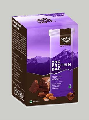 Picture of Yoga Bar - Protein Chocolate Brownie - 6 Piece(s)/Pack