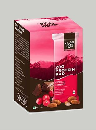 Picture of Yoga Bar - Protein Chocolate Cranberry - 6 Piece(s)/Pack