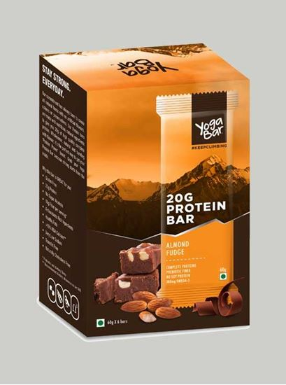 Picture of Yoga Bar - Protein Almond Fudge - 6 Piece(s)/Pack