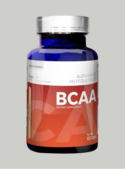 Picture of Advance Nutratech - BCAA  Unflavoured 60 Capsules