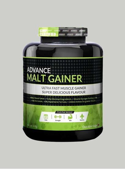 Picture of Advance Nutratech - Gainer Chocolate Malt 8.8 Lbs