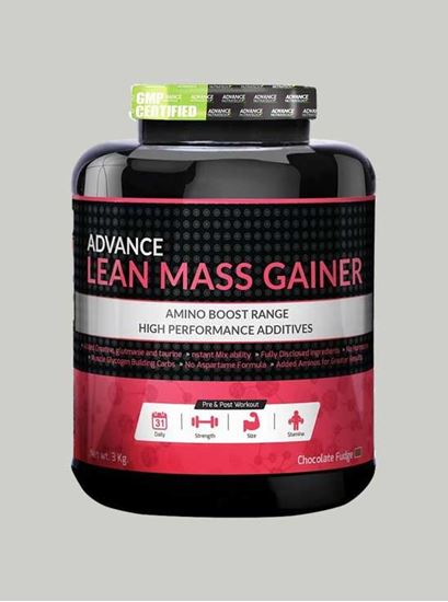 Picture of Advance Nutratech - Lean Mass Gainer Chocolate 6.6 Lbs