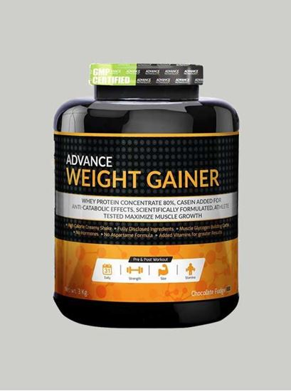 Picture of Advance Nutratech - Advance Weight Gainer Banana 6.6 Lbs