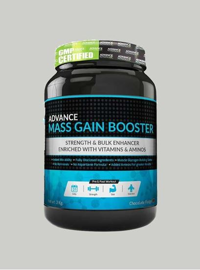 Picture of Advance Nutratech - Mass Gain Booster Chocolate 4.4 Lbs