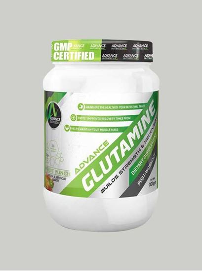 Picture of Advance Nutratech - Glutamine Fruit Punch 300 Grams