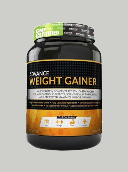 Picture of Advance Nutratech - Advance Weight Gainer Banana 2.2 Lbs