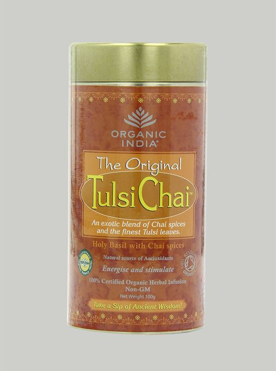 Picture of Organic India-  Tulsi Masala Chai 100 Grams